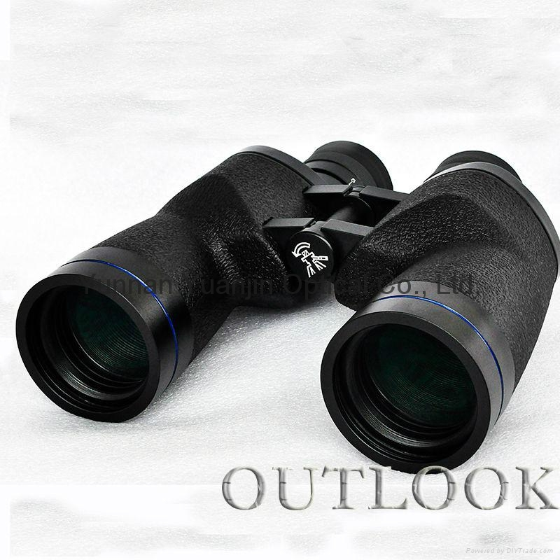 hot sale military grade binoculars 10x50 waterproof for marine