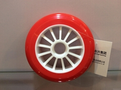 High speed rollerblade wheel
