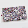 銷售國產亂色玻璃瓷珠 3