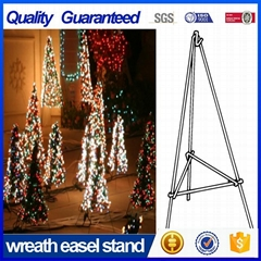 60'' Metal Wire Easel in Green for Christmas Tree
