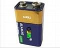 9V 6LR61碱性电池