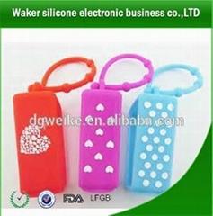 High quality beautiful design silicone perfume bottle holder
