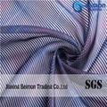 10S Stereoscopic Stripes Organza Fabric