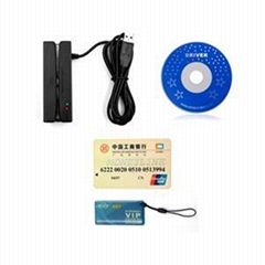 ZCS100-RF USB Magnetic Stripe Rfid Card Reader
