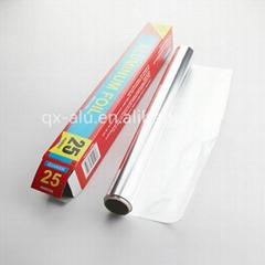 Household Aluminium foil roll for food