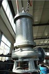 全鑄造不鏽鋼排污泵超耐腐蝕渣漿泵