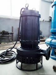 高耐磨潜水清淤泵 ,大功率矿用泵