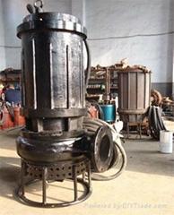 高鉻合金耐磨排砂泵/染料沉降池潛水耐磨泥漿泵
