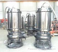 大流量潜水污泥泵 耐磨合金潜水泥浆泵