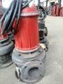 耐高温潜水渣浆泵/初沉池耐热泥