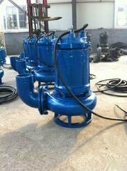 无堵塞高效切割式排污泵/绞刀式污水泵
