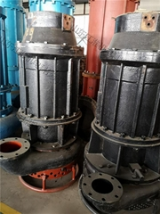 高鉻合金耐磨排砂泵 染料沉降池潛水耐磨泥漿泵