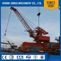 Floating Crane Barge Lift Container Portal Crane 80 Ton 2