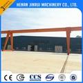 Outside Single Beam Electric Hoist Gantry Crane 2