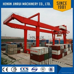 Inspection Services Gantry Shipping Container Mobile Crane