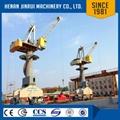 Floating Crane Barge Lift Container Portal Crane 80 Ton 3