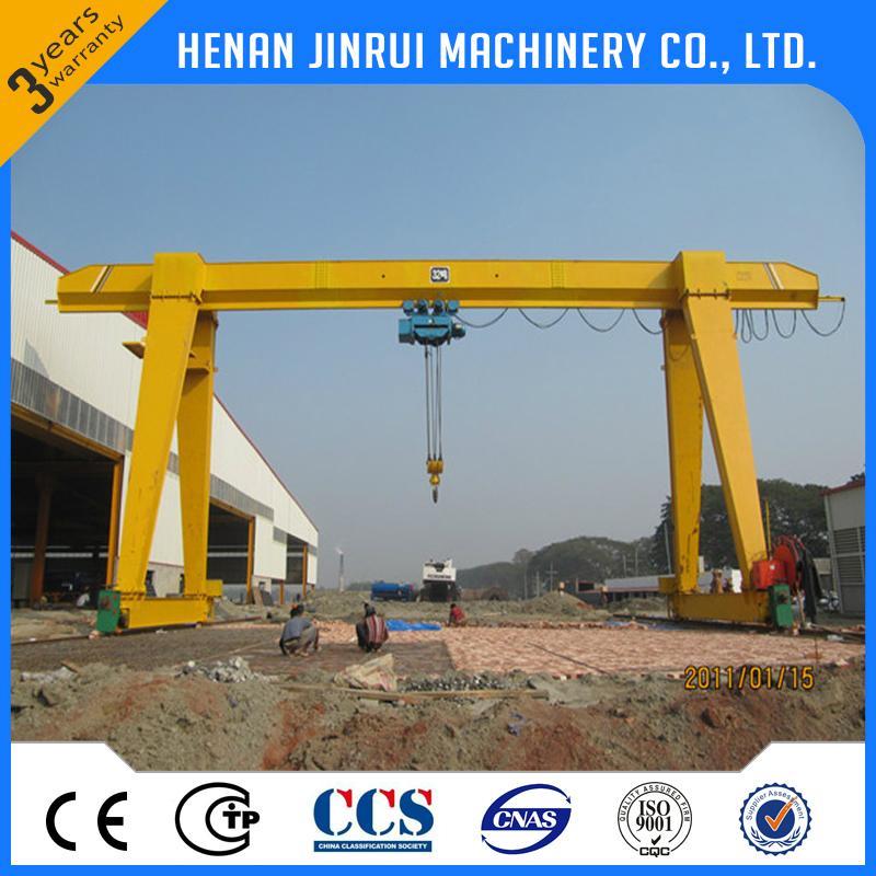 Outside Single Beam Electric Hoist Gantry Crane 4