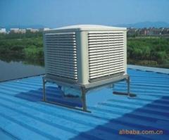 东莞化工厂车间加湿降温通风换气设备冷风机环保空调