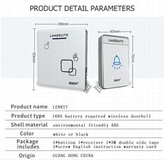 Wireless Doorbell ABS M