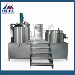 Hot sales 100L-200L homogenizer emulsifying machine