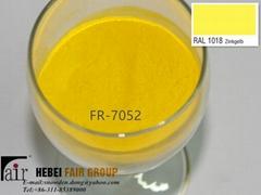Outdoor Yellow Powder Coatings