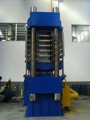 High-magnification EVA slippers, mat sheet making machine