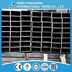 Iso9001 Standard Erw Weld Black Carbon Steel Pipe Price Per Ton