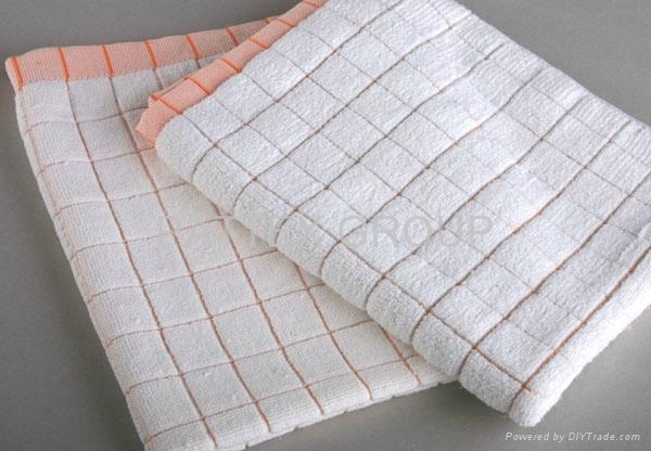 Microfiber Checked Kitchen Towel 1