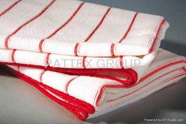 Microfiber Checked Kitchen Towel 2