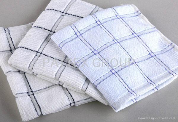 Microfiber Checked Kitchen Towel 4