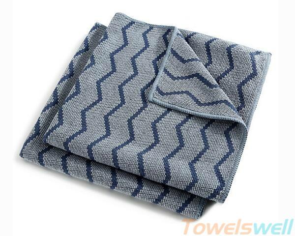 Wave Pattern Microfiber Cloth 1