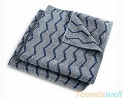 Wave Pattern Microfiber Cloth