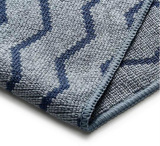 Wave Pattern Microfiber Cloth 3