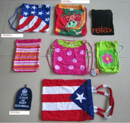 Beach towel bag 4