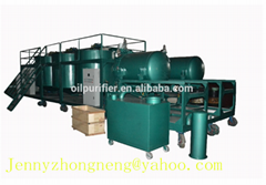 Engine Oil Recycling System engine oil cleaning machine