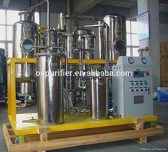 COP Vacuum Used Cooking Oil Purifier; oil purification