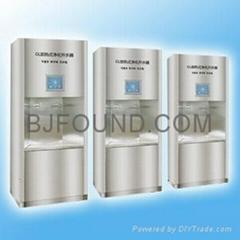 Purifier & step-heating boiler
