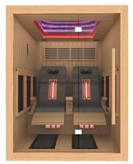 2016 New Design Luxury Infrared Sauna with Massage Chair (22A-L4)