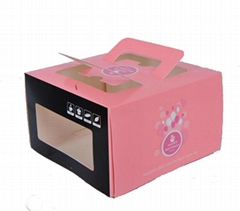 Cake Boxes with windows, Card Paper