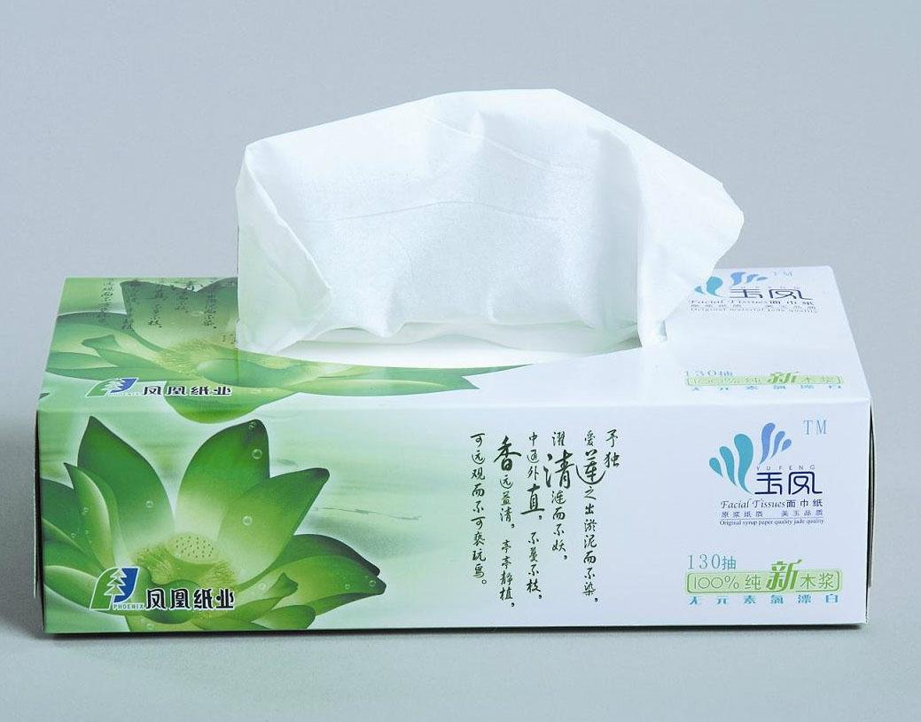 Facial Tissue Paper Boxes 2