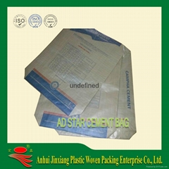Square Bottom valve Cement sack bag