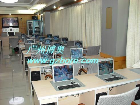 带键盘鼠标电动遥控液晶屏翻转显示器 4