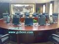 定做   液晶屏升降会议桌