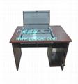 新款鋼木單位電教室液晶屏翻轉電腦桌 3