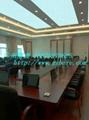 實木電教室液晶屏昇降會議桌