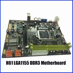 H61  LGA1155 DDR3 motherboard
