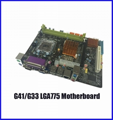 G33 G41 LGA775 DDR3 moth