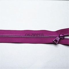 manufacturer's zipper, fashion colorful  resin zipper
