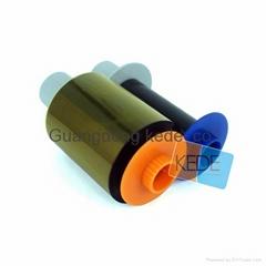 For Fargo HDP5000 84051 CMYK Ribbon - 500 prints/roll