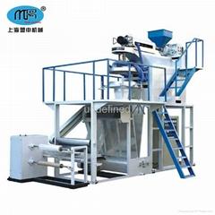 上海盟申PP聚丙烯塑料吹膜机